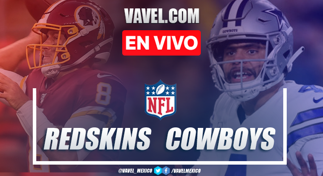 Resumen y Touchdowns: Washington Redskins 16-47 Dallas Cowboys en NFL 2019
