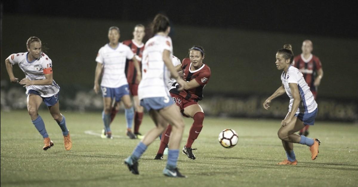 Yuki Nagasato propels the Chicago Red Stars to a win over Washington Spirit
