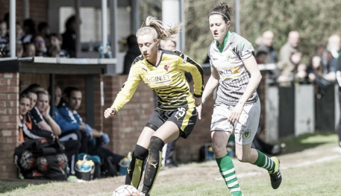 Yeovil Town Ladies 5-0 Watford Ladies: Rowson rallies her troops despite defeat