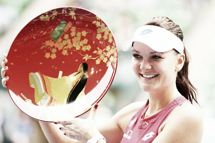 WTA Tokyo: Agnieszka Radwanska withdraws due to illness