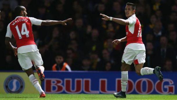 L'Arsenal soffre per 60' ma poi dilaga: 3-0 a Watford