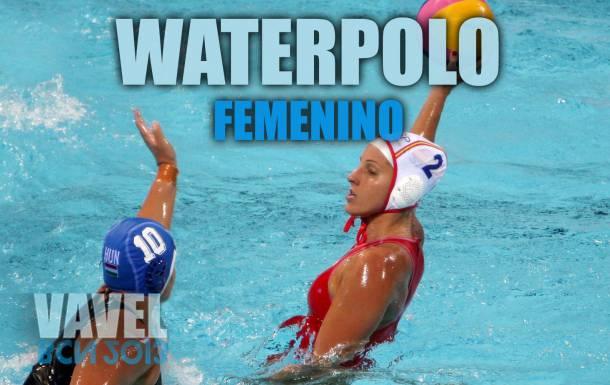Waterpolo femenino BCN 2013: España - Hungría (Semifinales); así lo vivimos