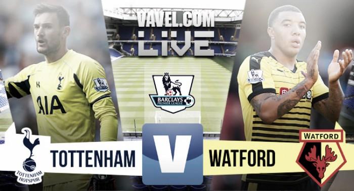 Tottenham Hotspur vs Watford Live Stream Score Commentary in Premier League 2016 (0-0)