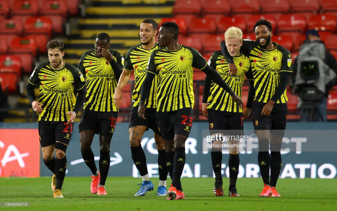Watford 2-1 Derby County: Hornets secure third successive win