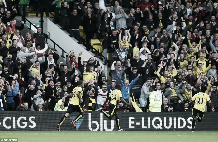 West Ham United 2-4 Watford: Hornets record first league win with comeback over Hammers