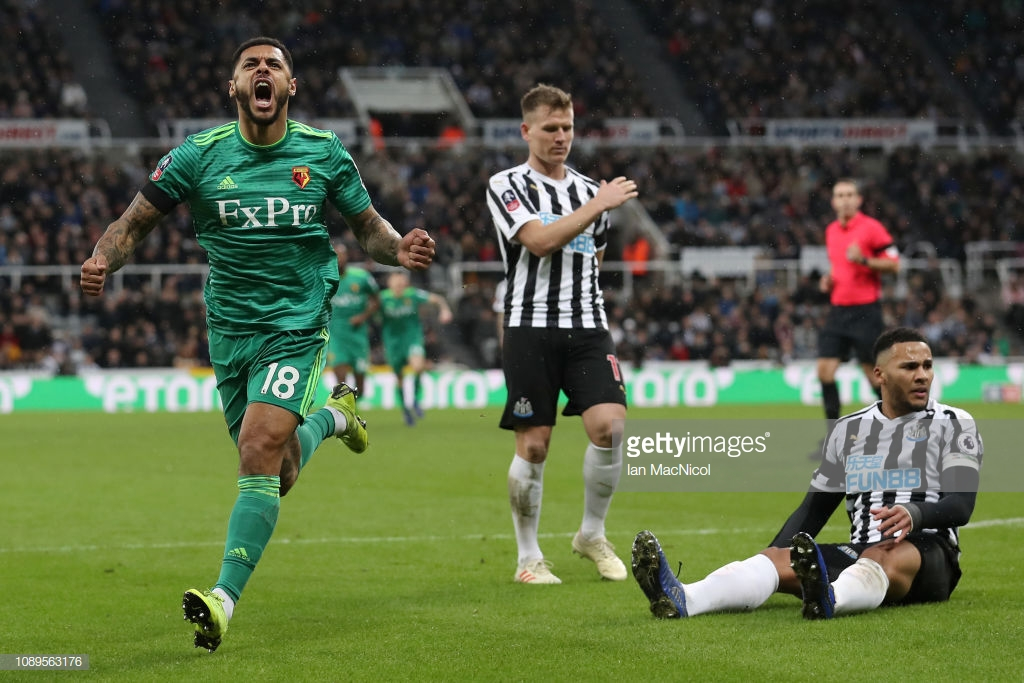Newcastle United 0-2 Watford: Hornets edge poor FA Cup tie