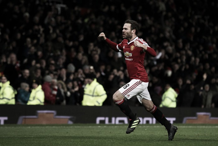 Manchester United 1-0 Watford: Late Mata free-kick sees Reds handed top four boost