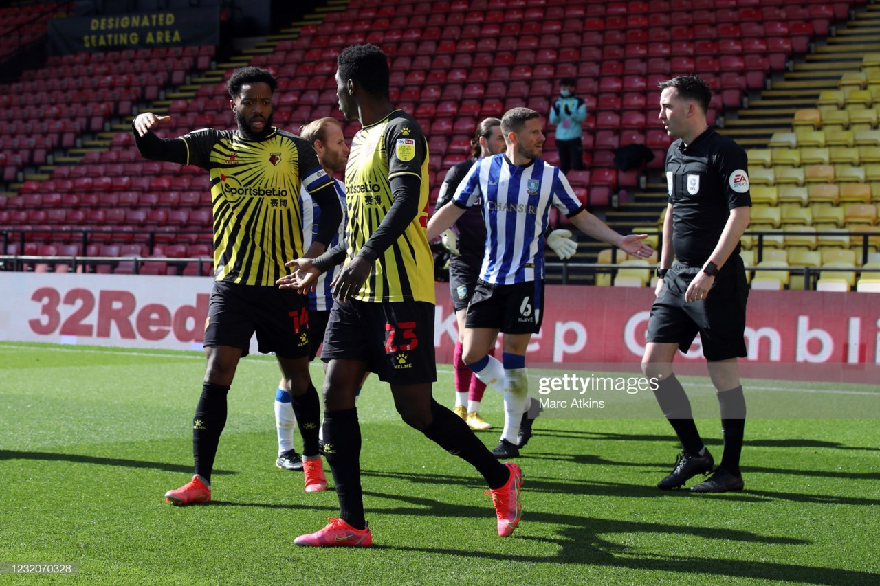 Watford 1-0 Sheffield Wednesday: Lees own-goal sees Hornets' promotion push continue