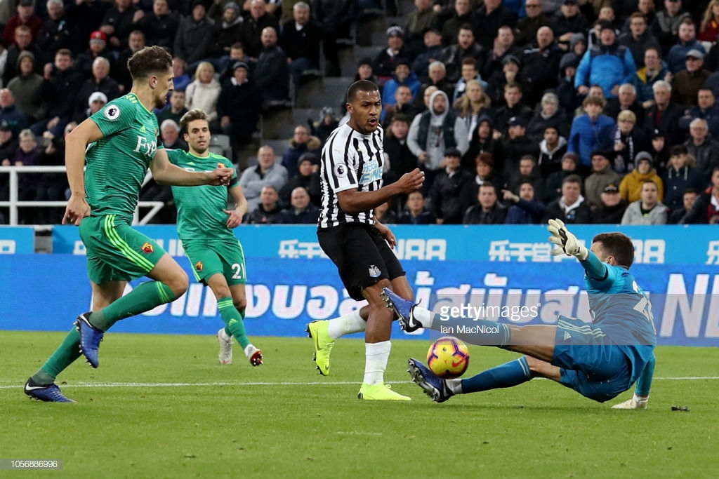 Newcastle United 1-0 Watford: Magpies gain first three points of the season