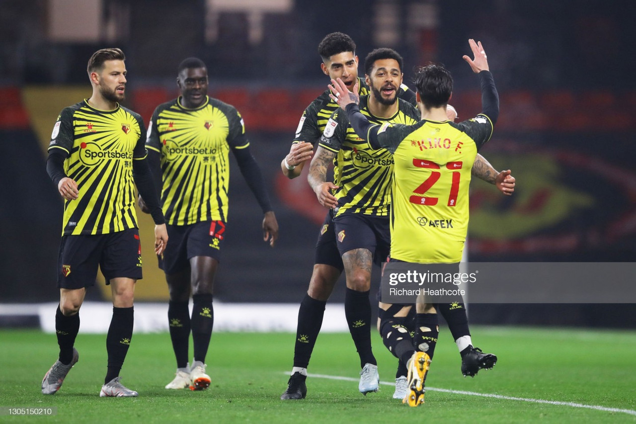 Watford 2-0 Wycombe Wanderers: Gray double sends Hornets to joint-2nd