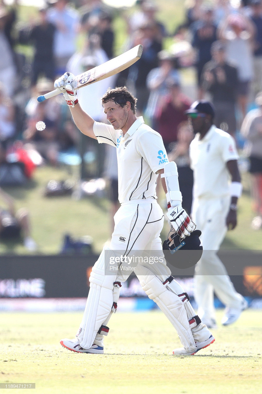 New Zealand vs England: Day Three - Watling ton grinds England into the dust