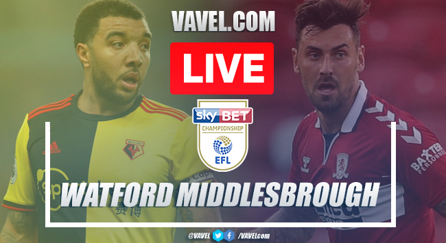 Watford vs Middlesbrough: Live Score and Stream (1-0): Hornets start season with victory