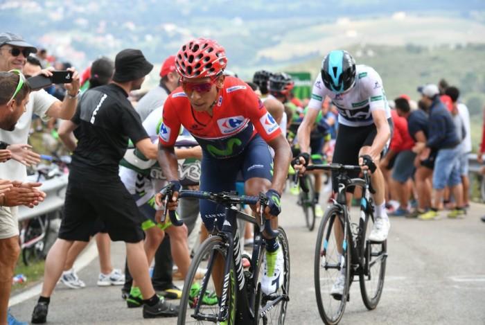 Vuelta 2016, 20° tappa: Benidorm - Alto de Aitana.Escuadrón Ejército del Aire, Froome prova a ribaltare la corsa