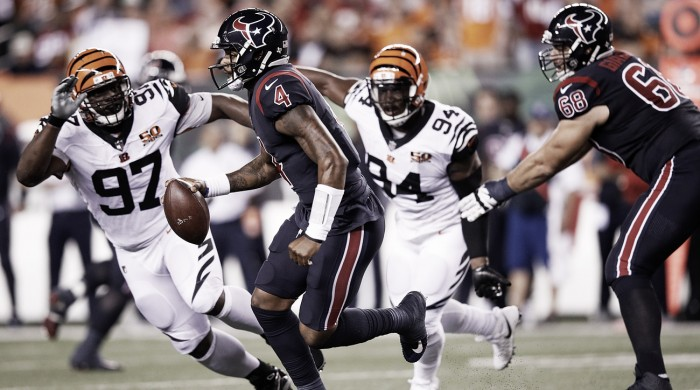 Thursday Night Football - DeShaun Watson travolge i Bengals all'esordio da titolare