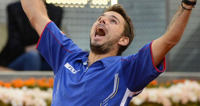 Madrid : Wawrinka retrouvera Nadal