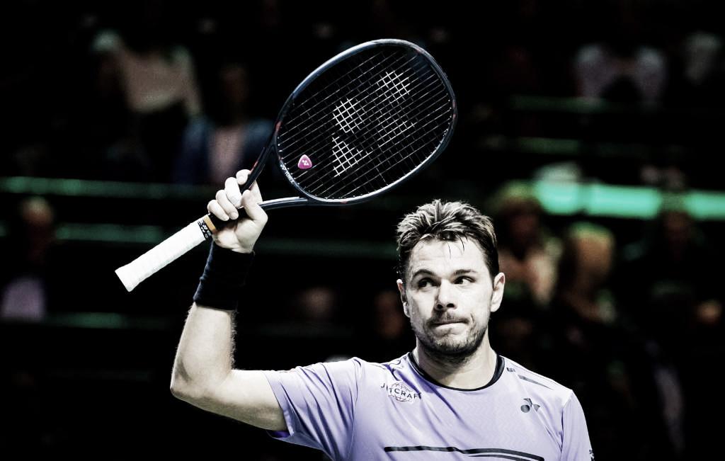 Wawrinka faz grande partida e elimina Raonic no ATP 500 de Roterdã