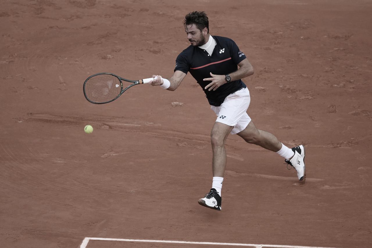 Wawrinka leva susto no terceiro set, mas vence Koepfer na segunda rodada de Roland Garros