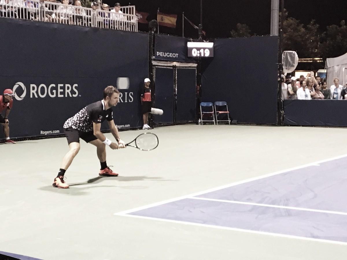 Wawrinka vira contra Fucsovics e enfrenta Nadal nas oitavas do Masters 1000 de Toronto