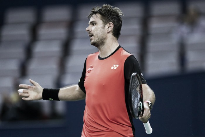 ATP Basel: Stan Wawrinka survives scare in all-Swiss affair