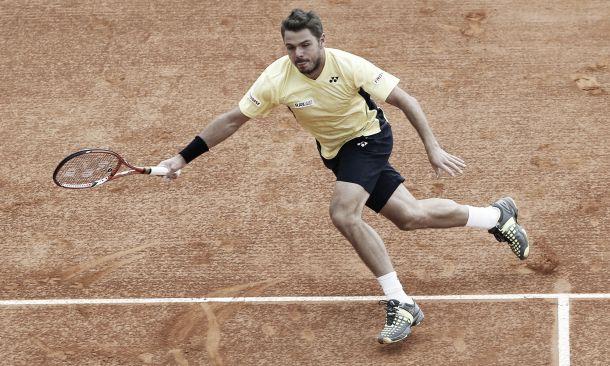 Wawrinka estreia com vitória sobre Monaco no Masters 1000 de Roma
