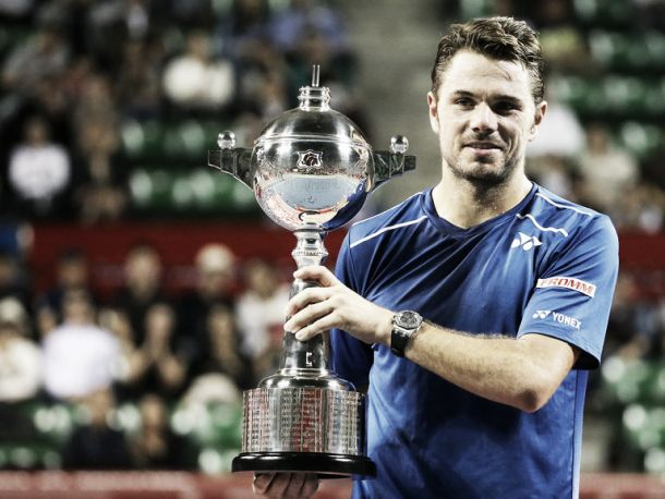 Japan Open: Wawrinka sweeps to maiden title