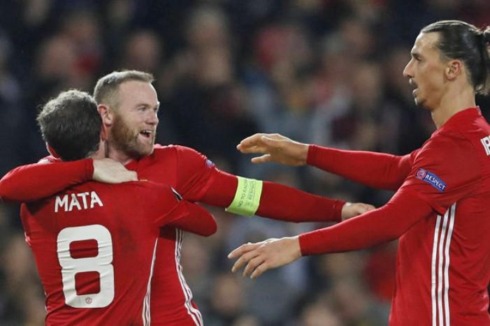 Europa League - Il Manchester batte 4-0 il Feyenoord e vede i sedicesimi