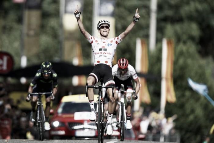 Tour de France, Barguil batte Quintana e Contador a Foix. Aru resiste in giallo