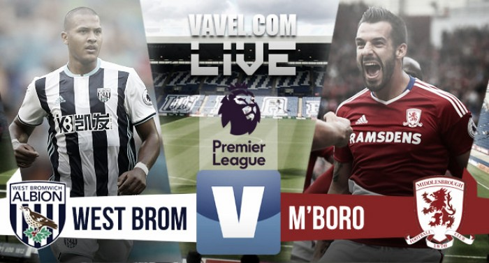 West Bromwich Albion 0-0 Middlesbrough Result: Stalemate at The Hawthorns