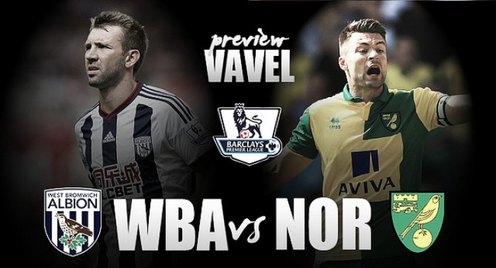 West Bromwich Albion - Norwich City Preview: Baggies look to extend unbeaten run