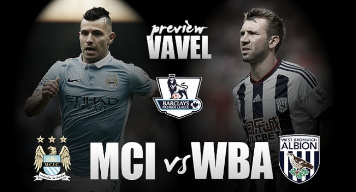 Manchester City - West Bromwich Albion Preview: Baggies make tough trip to resurgent Citizens