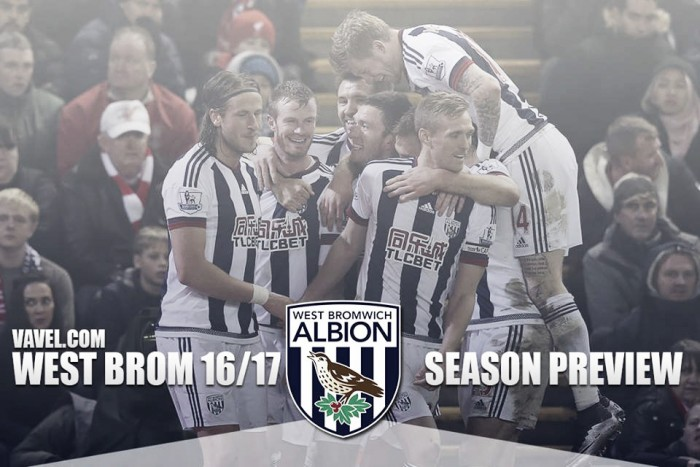 West Bromwich Albion 2016/2017 Season Preview: Baggies aim for continued growth as Pulis oversees first full season