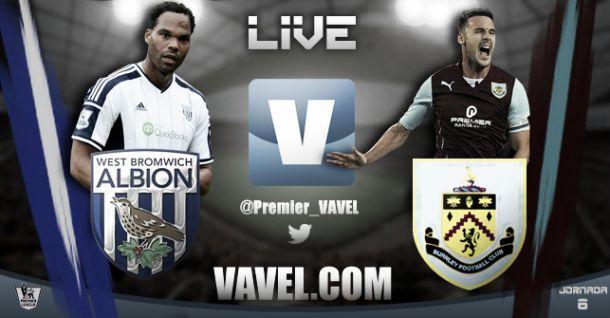 West Brom vs Burnley en vivo y en directo online