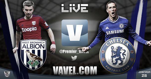 Diretta West Bromwich Albion - Chelsea in Premier League