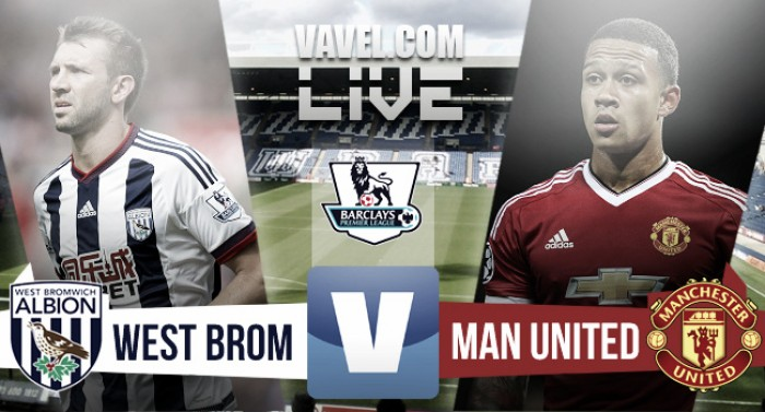 West Bromwich Albion 1-0 Manchester United: As it happened