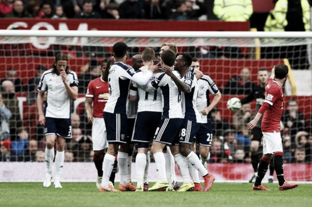 Manchester United 0-1 West Brom: Myhill excellent as Baggies record vital away win