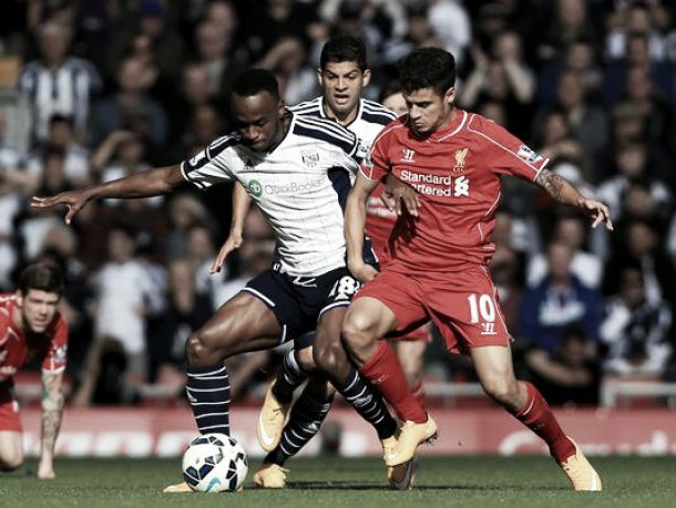West Bromwich Albion vs Liverpool Live Result and English Premier League Scores 2015