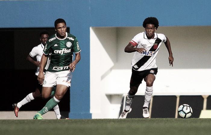 Vasco joga mal e é eliminado pelo Palmeiras na Copa São Paulo de Futebol Júnior