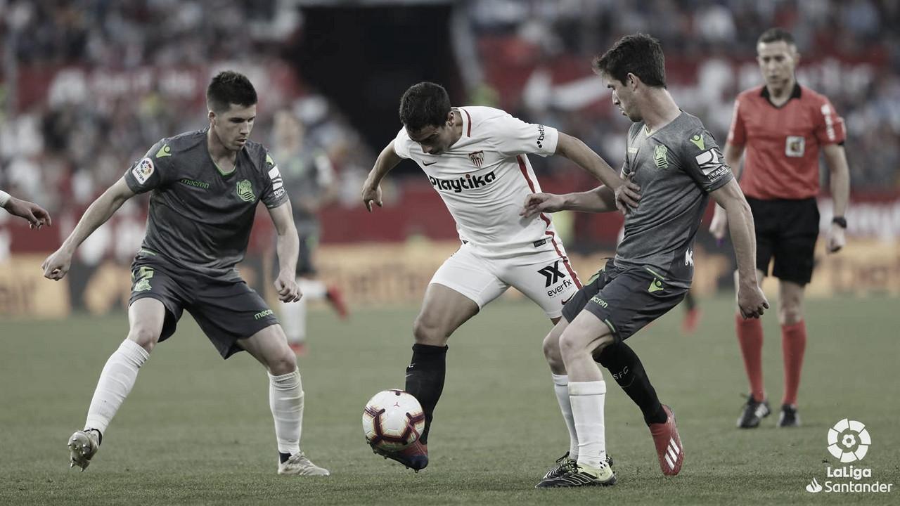 Sevilla FC vs Real Sociedad EN VIVO y en directo online en LaLiga Santander 2019