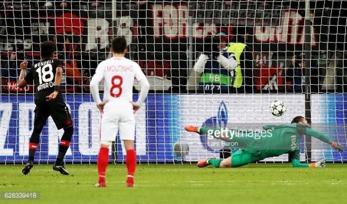 Bayer Leverkusen 3-0 AS Monaco: Leverkusen end group stage on a high