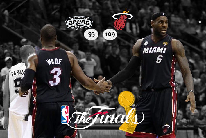 Big Three desencanta, Heat passeia e empata finais da NBA