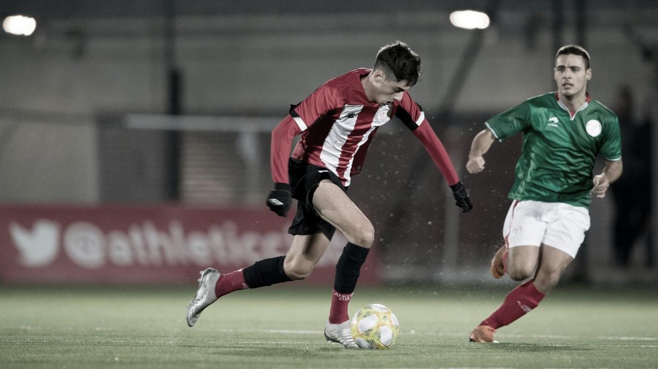 Aitor Seguín jugará cedido en el Barakaldo