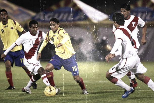 Historial: La Selección Colombia ante 'la banda' peruana