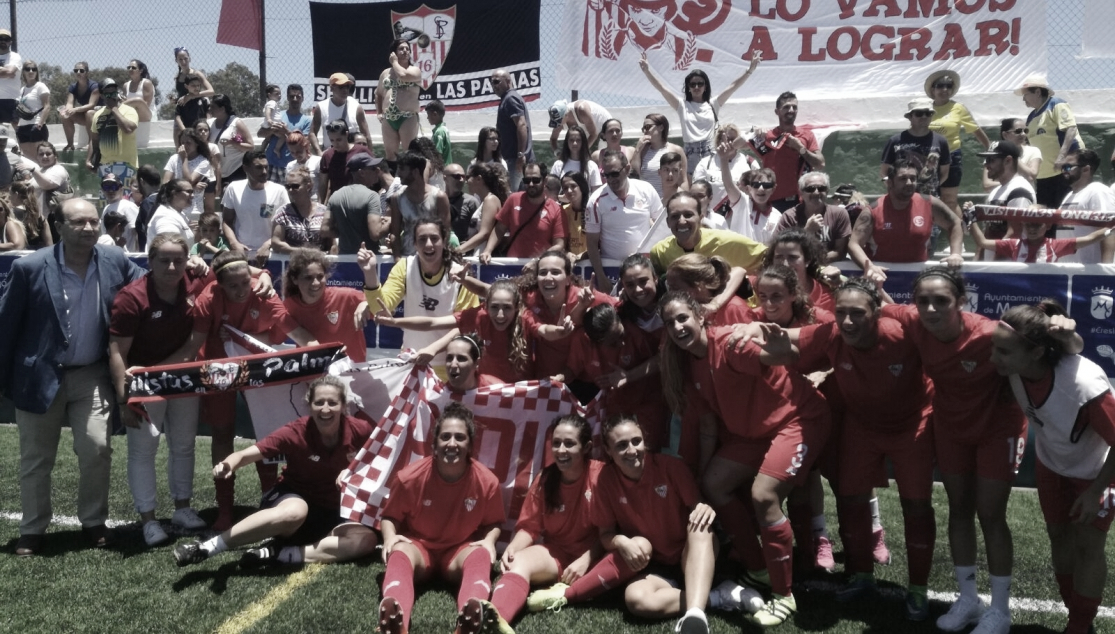 Se cumplen tres años del ascenso del Sevilla Femenino a la Primera Iberdrola