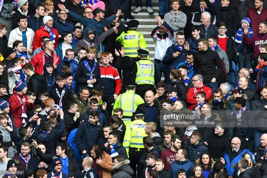 How could football fans be impacted by new policing bill?
