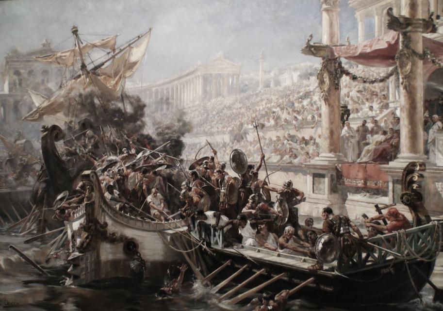 Violencia y diversión: el entretenimiento en Grecia y Roma