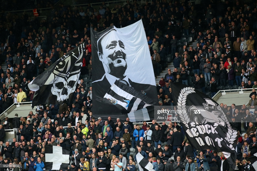 Newcastle fans have not been able to attend matches since March |Photo by Alex Livesey/Getty Images