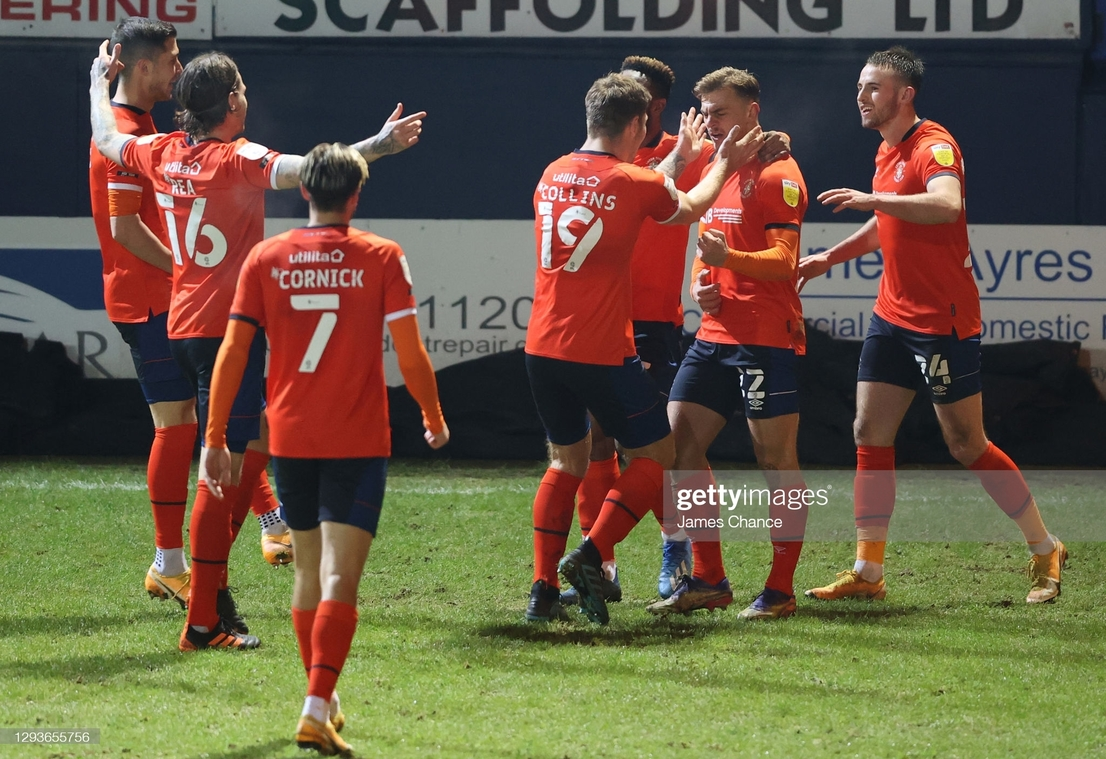 Luton Town 2-1 Bristol City: Dewsbury-Hall the star of the show as the Hatters earn hard-fought three points