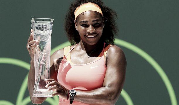 WTA Miami: Williams perfetta, la Suarez Navarro si inchina
