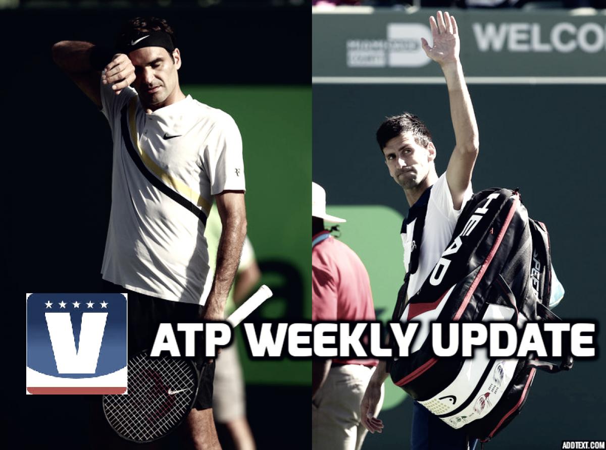 ATP Weekly Update week 12: Upsets break open Miami draw