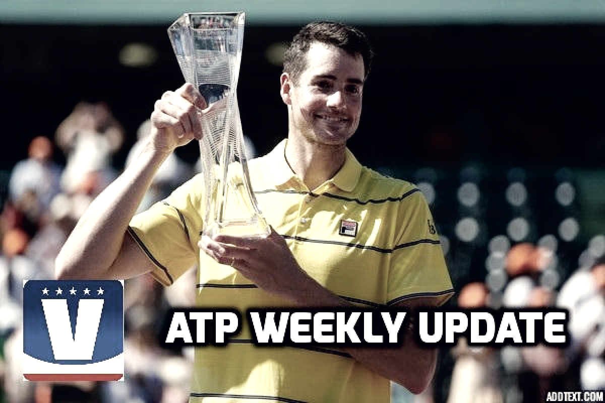 ATP Weekly Update week 13: John Isner finally breaks through in Miami